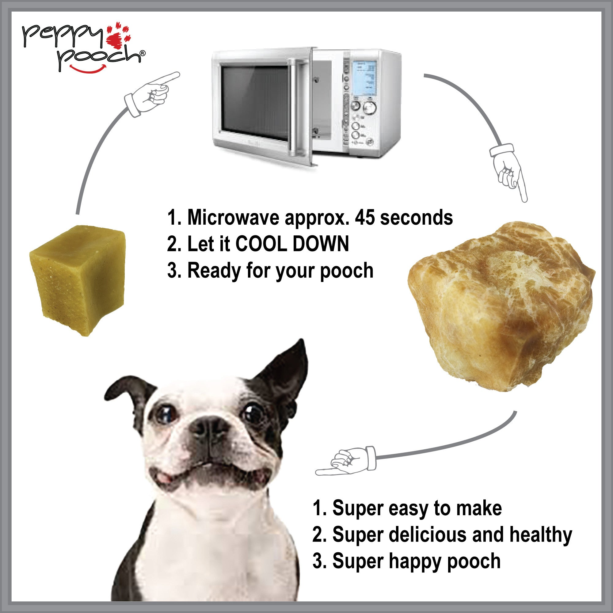 Himalayan Yak Cheese Nuggets For Dogs - Microwave to Puff