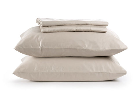Sachi Home - Dune Sateen Bedding - 1 Fitted, 1 Flt and 2 Pillowcases