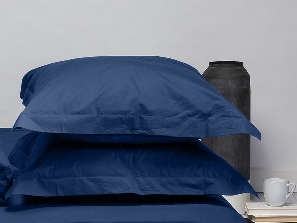 Sachi Home - Navy Sateen Bedding - 1 Euro Sham