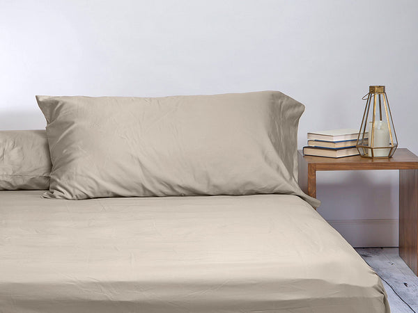 Sachi Home - Dune Sateen Bedding - Set of 2 Pillowcases