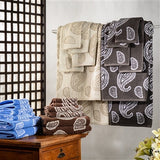 Luxury  Paisley 100% Cotton 6-Piece Towel Set