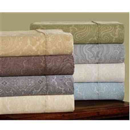 600 Thread Count Italian Paisley Bed Sheet Set