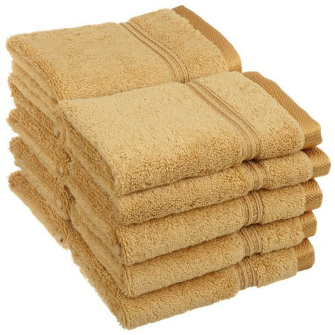 Egyptian Cotton Face Towel Washcloth Set 600 GSM 10-Piece