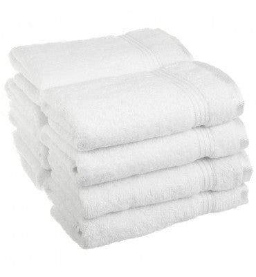 Luxury 100% Cotton 4pc Hand Towel Set