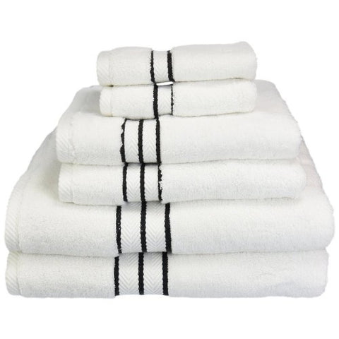 Luxury  Egyptian Cotton 900 GSM 6PC Hotel Towel Set