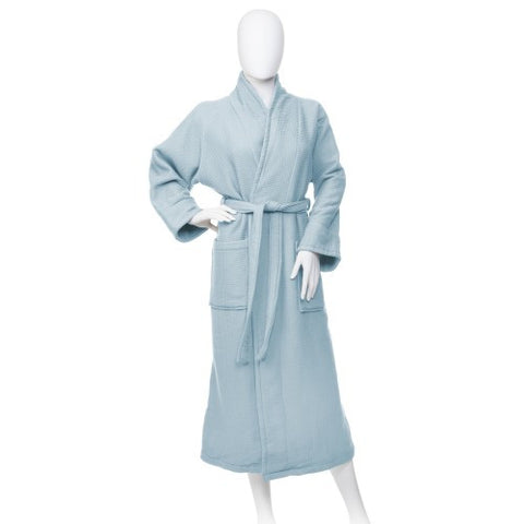 Luxury 100% COTTON WAFFLE BATH ROBE