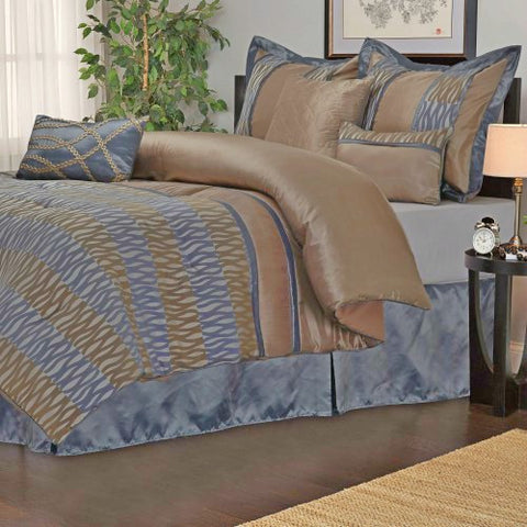Luxury Westerly 7Pc Bedding Set - Queen - Multi-Colored