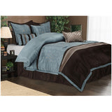 Luxury Carleton 7-Piece Bed-In-Bag Sets - Anippe