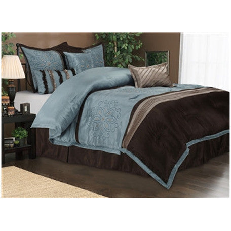 Luxury Carleton 7-Piece Bed-In-Bag Sets