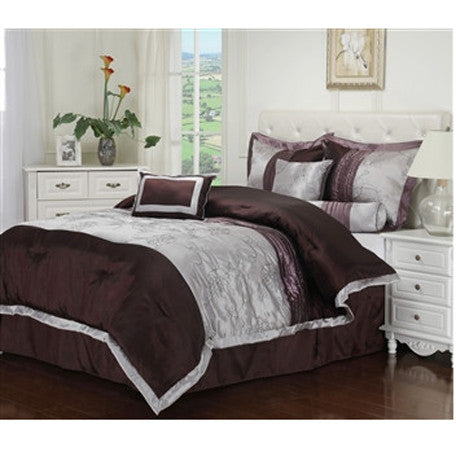 Luxury Kashmir 7-Piece Bed-In-Bag Set