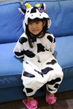 New Baby Boys Girls Pajamas Autumn Winter Children Flannel Animal funny animal Stitch panda Pajamas Kid Onesie Sleepwear