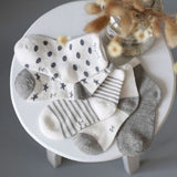 10 Pieces/lot=5Pairs Cotton New Born Baby Socks Short Socks Girls and Boys - Anippe