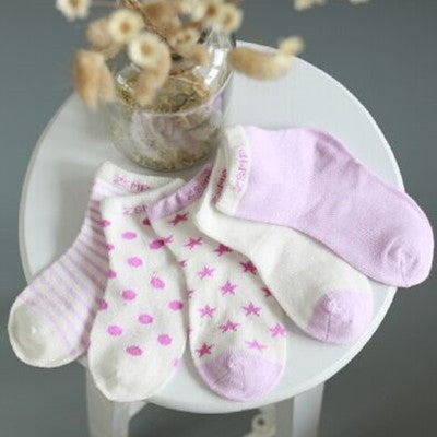 10 Pieces/lot=5Pairs Cotton New Born Baby Socks Short Socks Girls and Boys