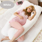 Comfortable Pregnancy U type Pillows  Maternity big U Shaped Body Pillows Body Pregnancy Pillow For Side Sleeper Removable Cover - Anippe