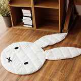 Baby Infant Play Mats Kids Crawling Carpet Floor Rug Baby Bedding Rabbit Blanket Cotton Game Pad Children Room Decor - Anippe