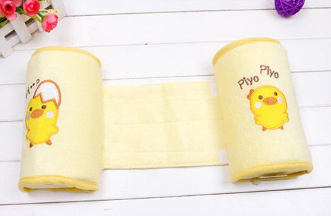 Baby Crib Infant Baby Toddler Safe 100% Cotton Anti Roll Pillow Sleep Flat Head Positioner