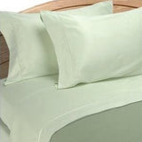 Luxury 1000 TC 100% Egyptian Cotton California King Sheet Set Solid In Sage - Anippe
