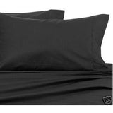 Luxury 800 TC 100% Egyptian Cotton Queen Sheet Set In Black - Anippe