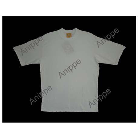 Egyptian Cotton Plain White T Shirt Undershirt White T Shirt