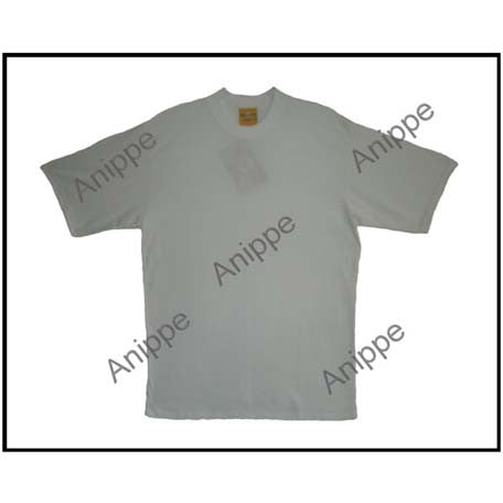 Egyptian Cotton Plain Ivory T Shirt Undershirt Ivory T Shirt