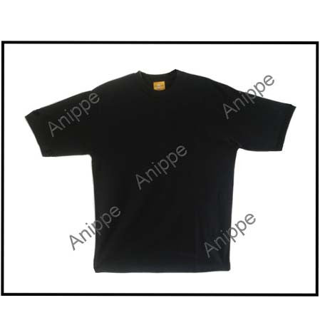 Egyptian Cotton Plain Black t Shirt Undershirt Black T Shirt