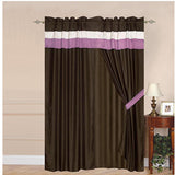 "Luxury Lavender 60""x84"" Window Curtain with Lining and 18"" Valance - Anippe"