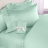 Luxury 600 Thread Count 100% Egyptian Cotton Queen Sheet Set In Sage