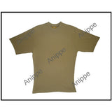 100% Pure Egyptian Cotton T-shirt In Beige