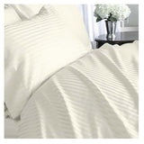 1000TC Stripe King Flat Sheets - Anippe