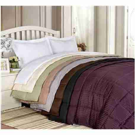 Luxury All Season King/Cal King Size Down Alternative Reversible Blanket