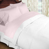 Luxury 600 Thread Count  100% Egyptian Cotton Full Size Sheet Set In Pink - Anippe
