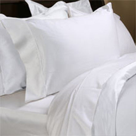 Luxury 1000TC 100% Egyptian Cotton Duvet Cover - King/Cal King Solid in White