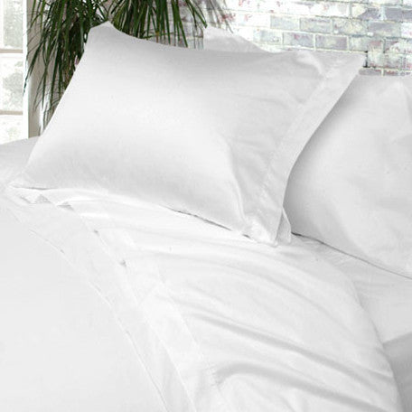 Luxury 800 TC 100% Pure Egyptian Cotton Queen Sheet Set In White