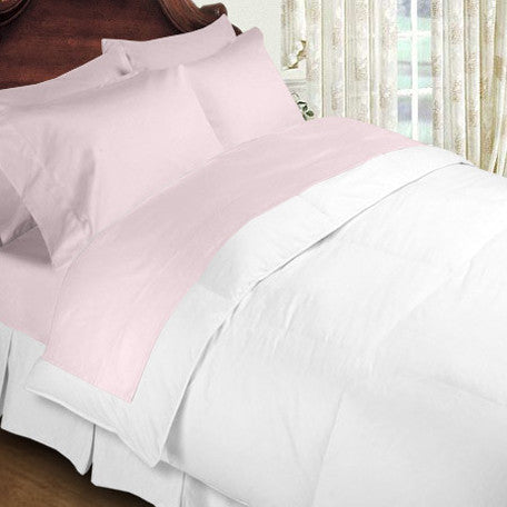 Luxury 800 TC 100% Egyptian Cotton California King Sheet Set In Pink