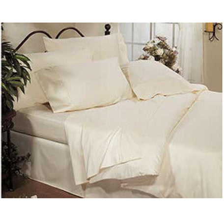 Luxury 800 TC 100% Egyptian Cotton King Sheet Set In Ivory/Cream
