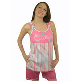 Cute 100% Pure Egyptian Cotton Pajama In Fuchsia - Anippe