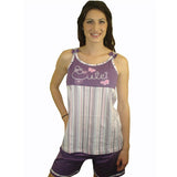 Cute 100% Pure Egyptian Cotton Pajama In Purple - Anippe