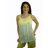 Cute 100% Pure Egyptian Cotton Pajama In Yellow - Anippe