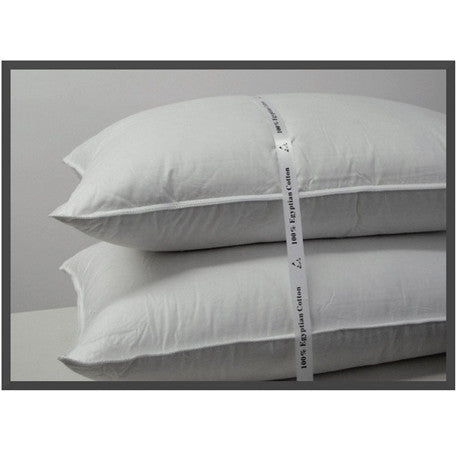 Luxury Standard/Queen 500 Thread count Firm Goose Down Filled Pillow (each)