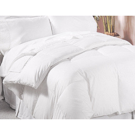 All Season Down Alternative White Comforter