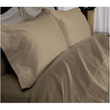 Luxury 1000TC 100% Egyptian Cotton Duvet Cover - King/Cal King Solid in Taupe - Anippe