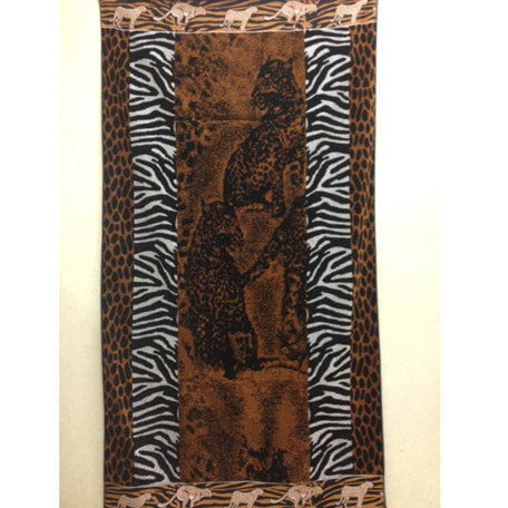 Luxury 100% Egyptian Cotton Safari  Beach Towel