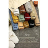 Set of 2 100% Egyptian Cotton luxury Bath Rugs/Mats - Anippe