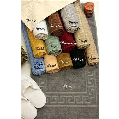 Set of 2 100% Egyptian Cotton luxury Bath Rugs/Mats