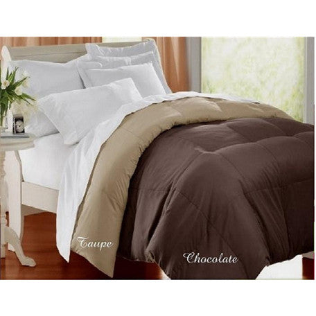 Luxury Down Alternative Reversible Comforter Queen Size