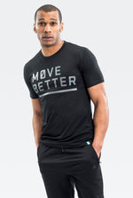 Ardour Move Better Tee Black