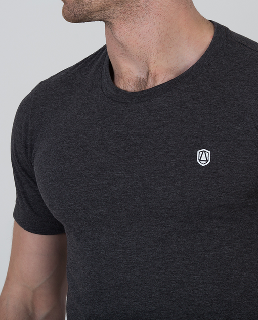 Ardour Shield T-Shirt Dark Grey
