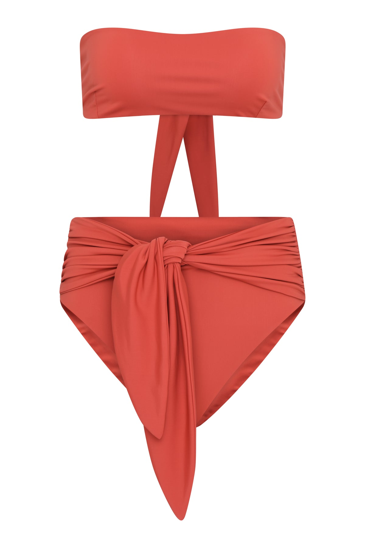 Dee high waist bottoms -Terracotta