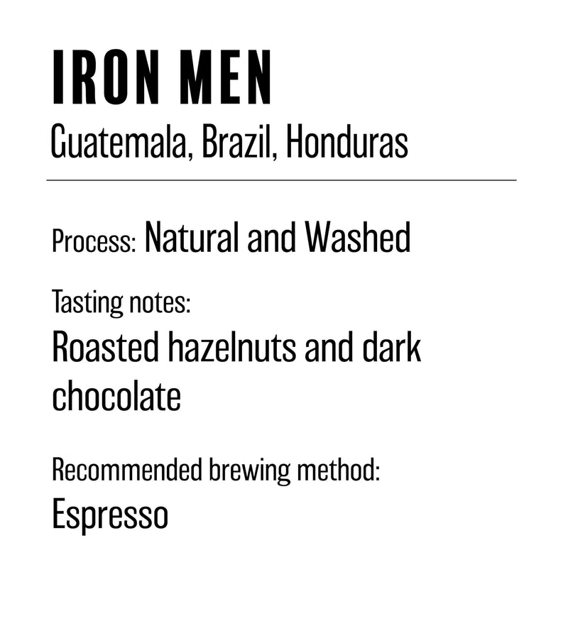 Iron Men Blend