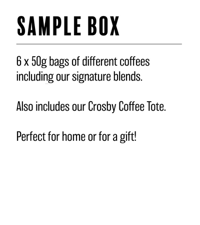 Coffee Sample Box